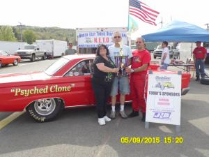 2015 Race 2 - Lebanon Valley - Winners