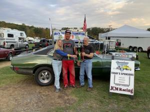 Race 13 Nost Winner Jerry Hiller and wife Theresa